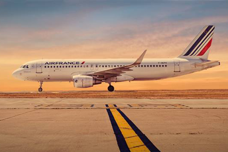 Source: Air France Facebook page