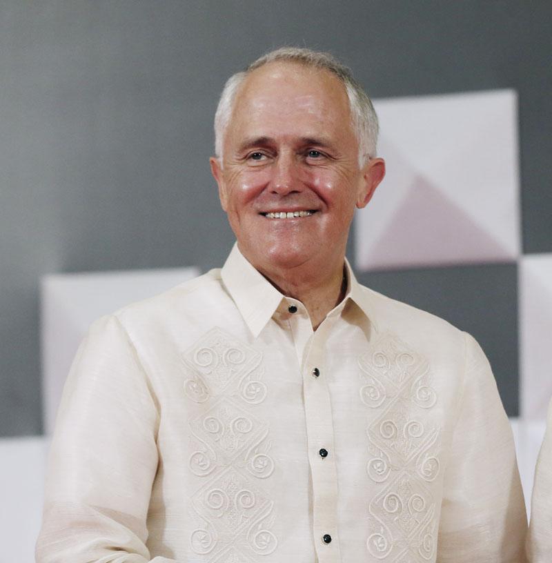 Australian Prime Minister Malcolm Turnbull on  Wednesday, November 18, 2015. Photo: AP
