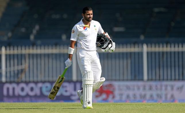 Pakistan's Azhar Ali looks dejected after being dismissed in this undated file photo: Photo: Reuters