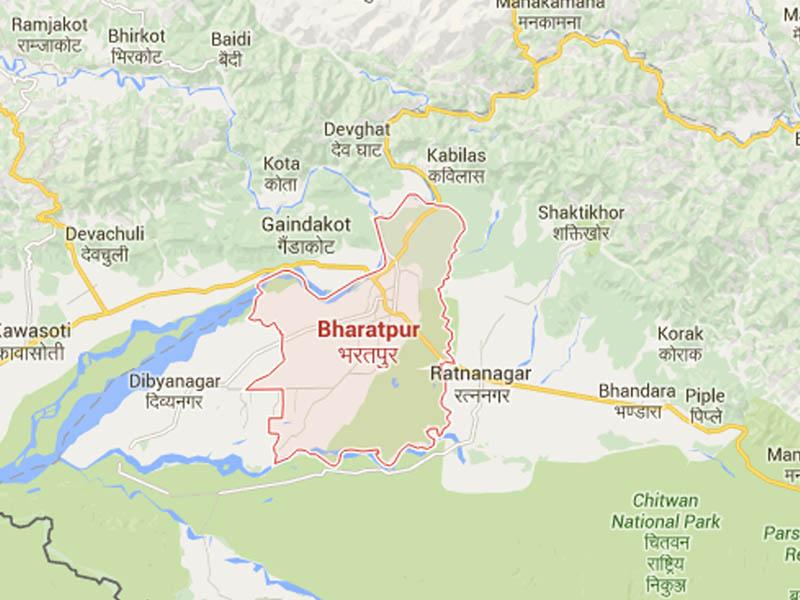 Bharatpur of Chitwan. Source Google Maps