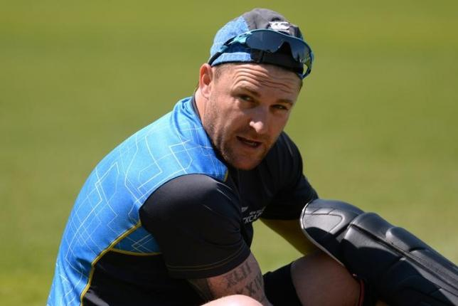 Cricket - England Nets - Kia Oval - 11/6/15nNew Zealand's Brendon McCullum during netsnAction Images via Reuters / Philip BrownnLivepic/Files