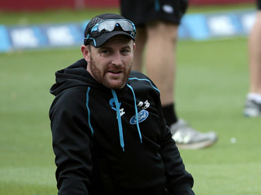 New Zealand's captain Brendon McCullum gets ready for the start of play on 281 not out against India during the second innings of play on day five of the second international test cricket match at the Basin Reserve in Wellington, February 18, 2014. Photo: Reuters