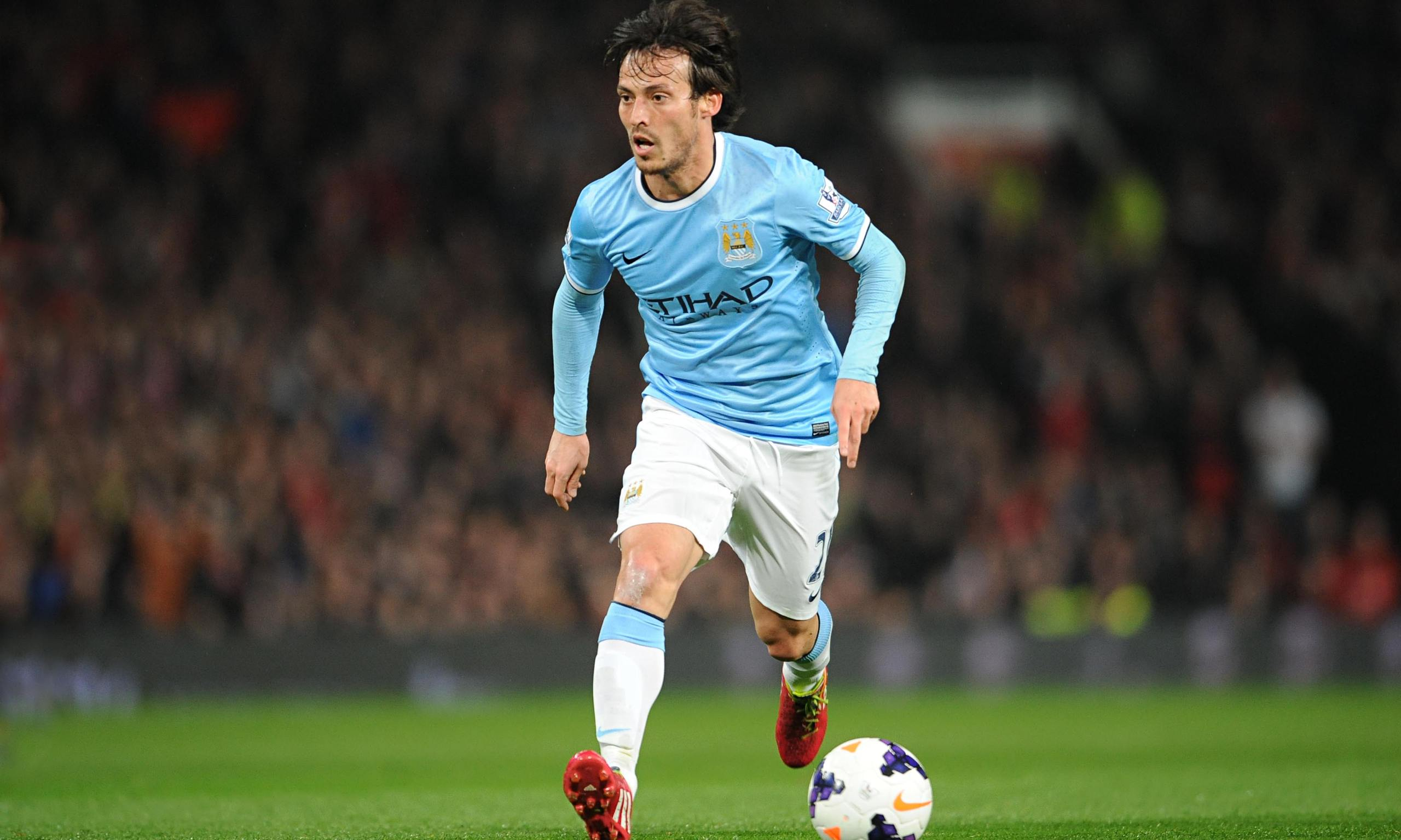 David Silva of Manchester City in this undated file photo.