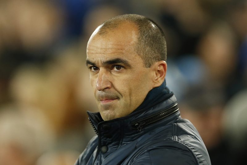 Everton manager Roberto Martinez during Everton vs Crystal Palace match of Barclays Premier League at the Goodison Park, on December 7, 2015. Photo: Reuters