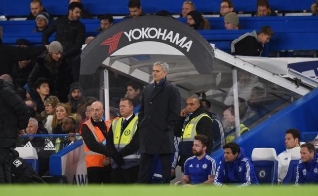 Football Soccer - Chelsea v AFC Bournemouth - Barclays Premier League - Stamford Bridge - 5/12/15. Chelsea manager Jose Mourinho. Action Images via Reuters / Tony O'Brien. Livepic