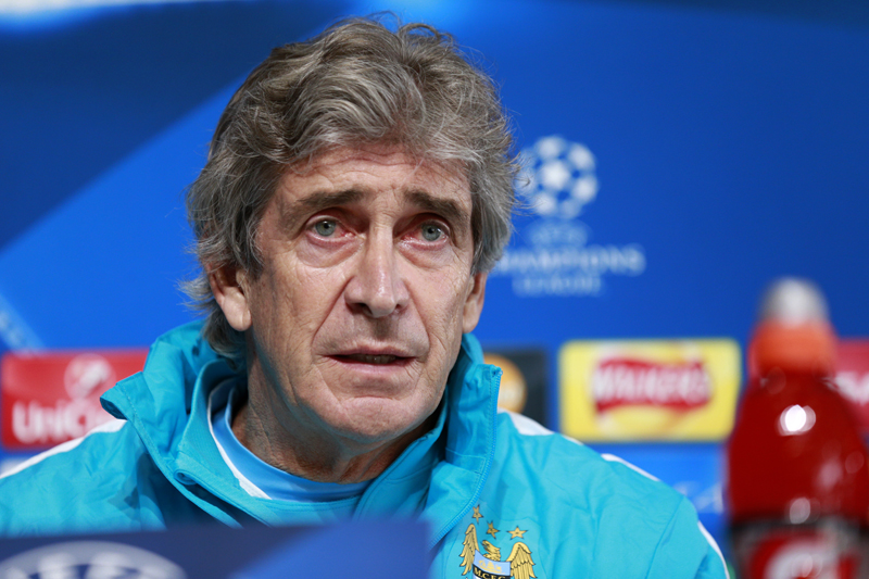 Manchester City manager Manuel Pellegrini during the press conference at City Football Academy, in Manchester, England on December 7, 2015. Photo: Reuters