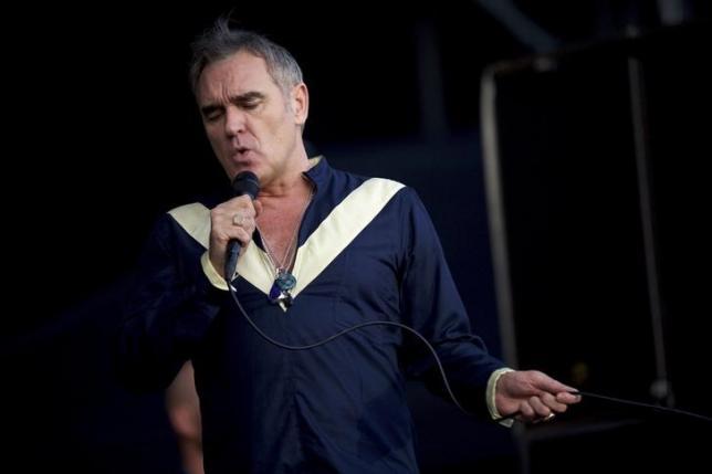 Morrissey performs at the Firefly Music Festival in Dover, Delaware June 19, 2015. REUTERS/Mark Makela/Files