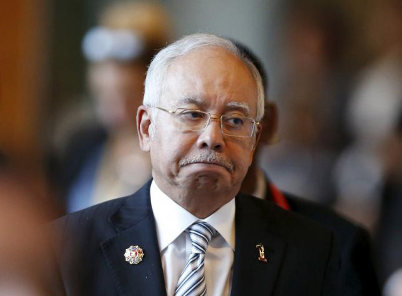 Malaysia's Prime Minister Najib Razak arrives at a session of the 27th Association of Southeast Asian Nations (ASEAN) Summit in Kuala Lumpur, November 21, 2015. Photo: Reuters