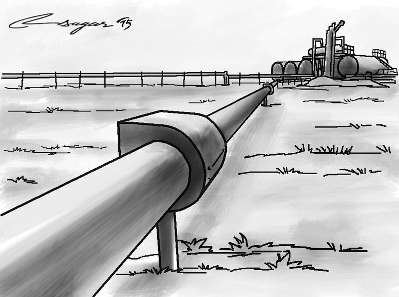 Nepal-India petroleum pipeline. THT