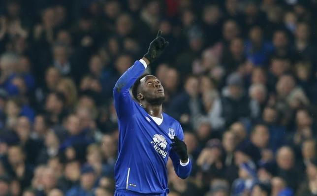 Everton's Romelu Lukaku. Reuters / Eddie Keogh