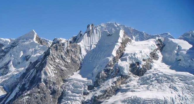 Yala Peak (5,732 metres). File Photo
