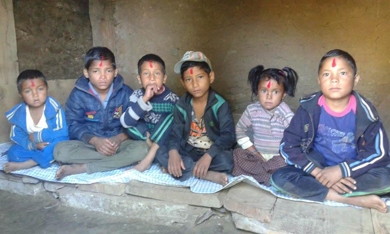 Children at JTM Orphanage. Photo: Courtesy Meena B Panday