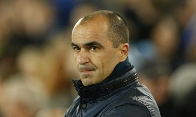 Everton manager Roberto Martinez. Action Images via Reuters / Andrew Boyers