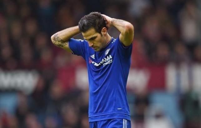 Chelsea's Cesc Fabregas. Photo: Reuters