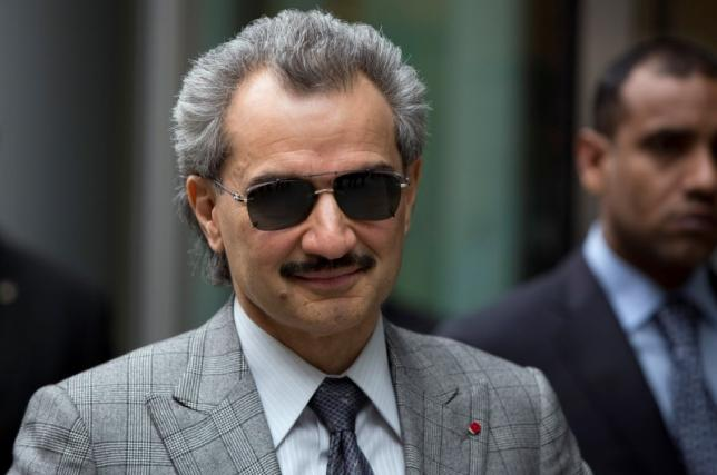 Prince Alwaleed bin Talal is seen leaving the High Court in London in this July 2, 2013 file photograph. Photo: REUTERS