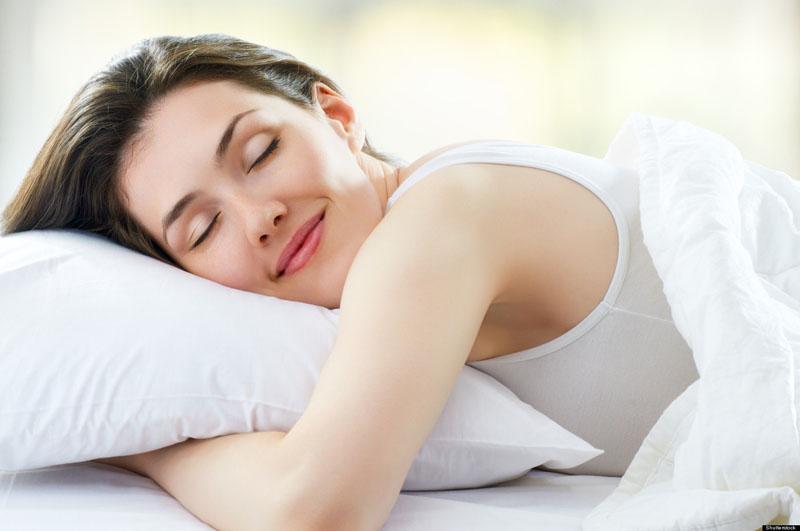 beautiful girl sleeps in the bedroom; Shutterstock ID 80758018; PO: The Huffington Post; Job: The Huffington Post; Client: The Huffington Post; Other: The Huffington Post