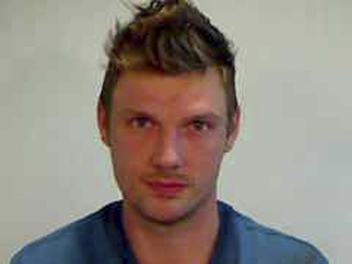 Nick Carter, 35, is shown in this booking photo provided by the Monroe County Sheriff's Office in Key West, Florida January 14, 2016. Photo: Reuters