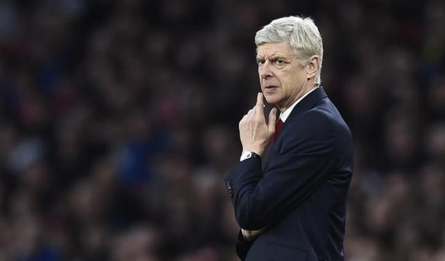 Football Soccer - Arsenal v Chelsea - Barclays Premier League - Emirates Stadium - 24/1/16., Arsenal manager Arsene Wenger. Reuters / Dylan Martinez/Livepic