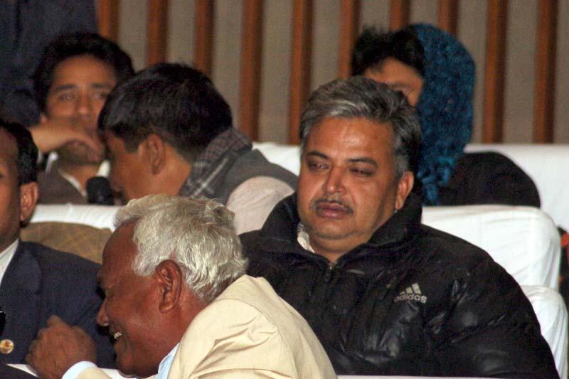 UCPN-Maoist leader Bal Krishna Dhungel. Photo: THT/ File