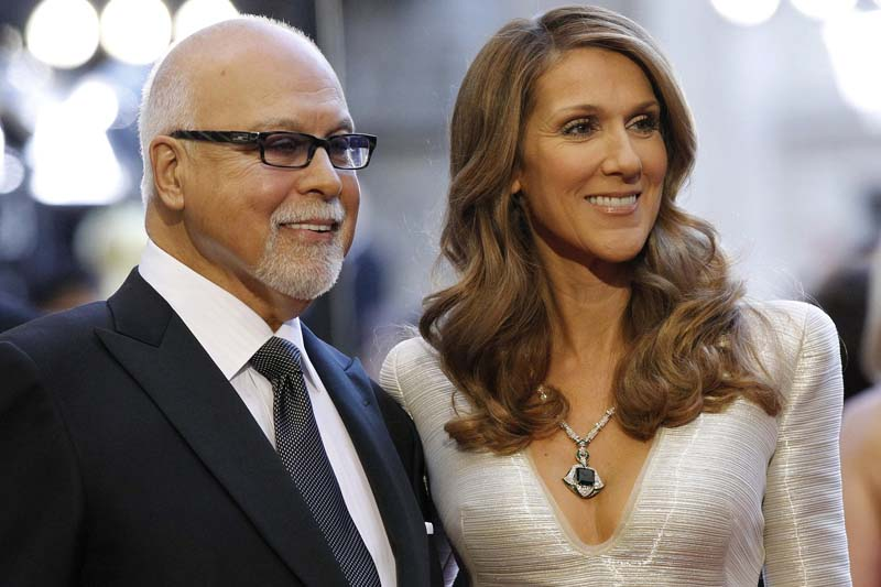 Singer Celine Dion and her husband Rene Angelil arrive at the 83rd Academy Awards at the 83rd Academy Awards in Hollywood, California, on this February 27, 2011. Photo: Reuters/ File