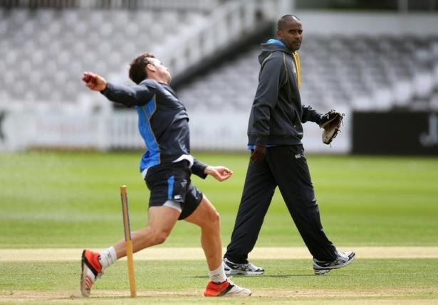 Cricket - New Zealand Nets - Lord's - 5/5/15, New Zealand's Bowling Coach Dimitri Mascarenhas. Action Images via Reuters / Paul Childs/ Livepic