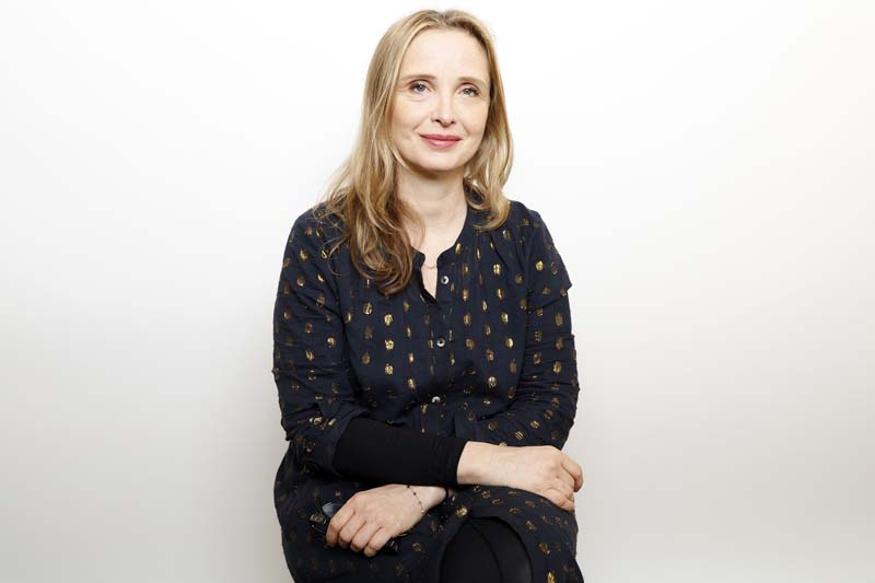 Actress Julie Delpy poses for a portrait to promote the film, u201cWiener-Dogu201d, at the Toyota Mirai Music Lodge during the Sundance Film Festival on Friday, January 22, 2016 in Park City, Utah. Photo: AP