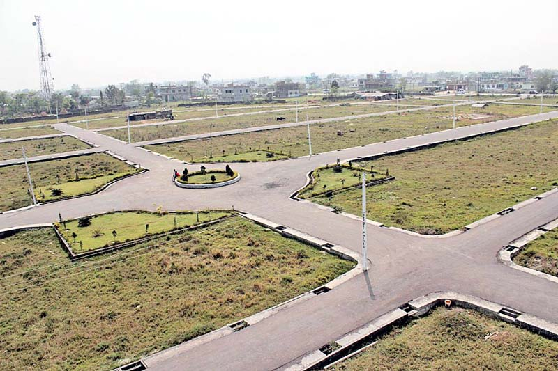 Land plots prepared for sale. Photo: THT/ File
