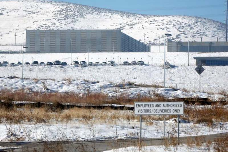 A National Security Agency (NSA) data gathering facility is seen in Bluffdale, about 25 miles (40 km) south of Salt Lake City, Utah, on December 16, 2013. Photo: Reuters
