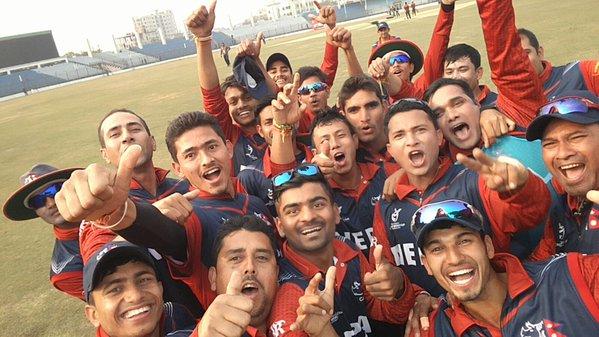 Selfie and celebration. Photo: ICC