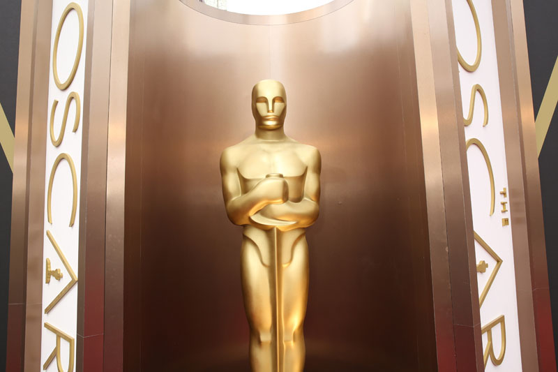 FILE -  An Oscar statue is displayed at the Oscars at the Dolby Theatre in Los Angeles on March 2, 2014. Photo: AP