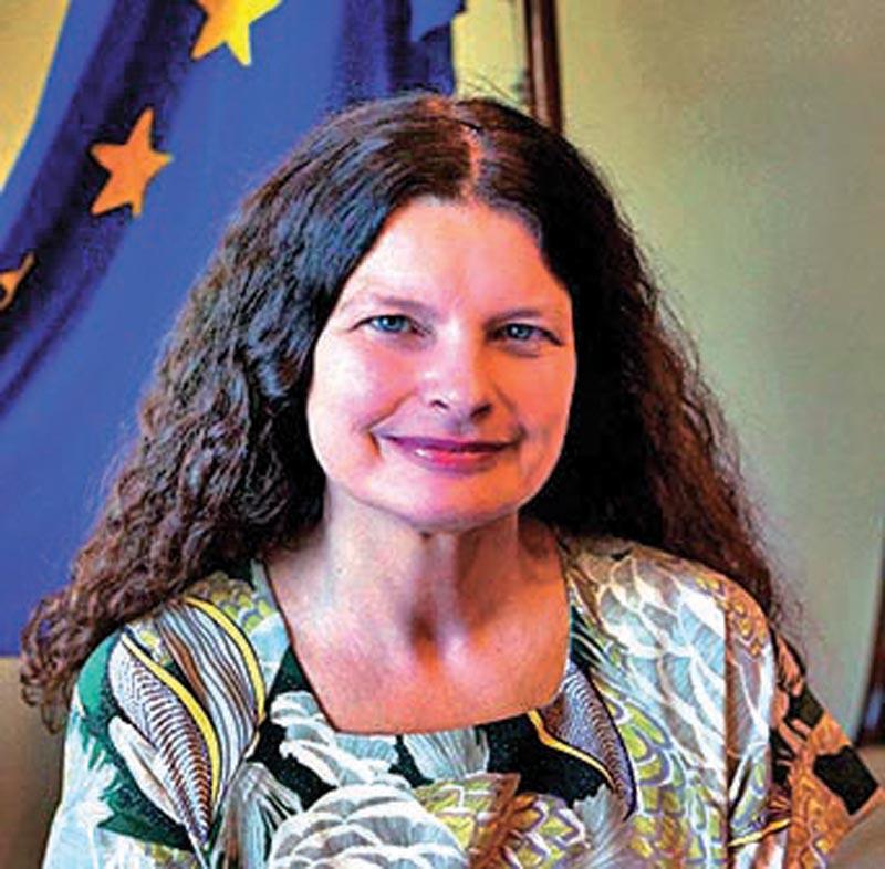 Rensje Teerink, Ambassador of the European Union Delegation to Nepal