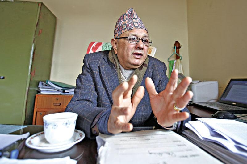 Rewat Bahadur Karki Photo/Skanda Gautam/THT