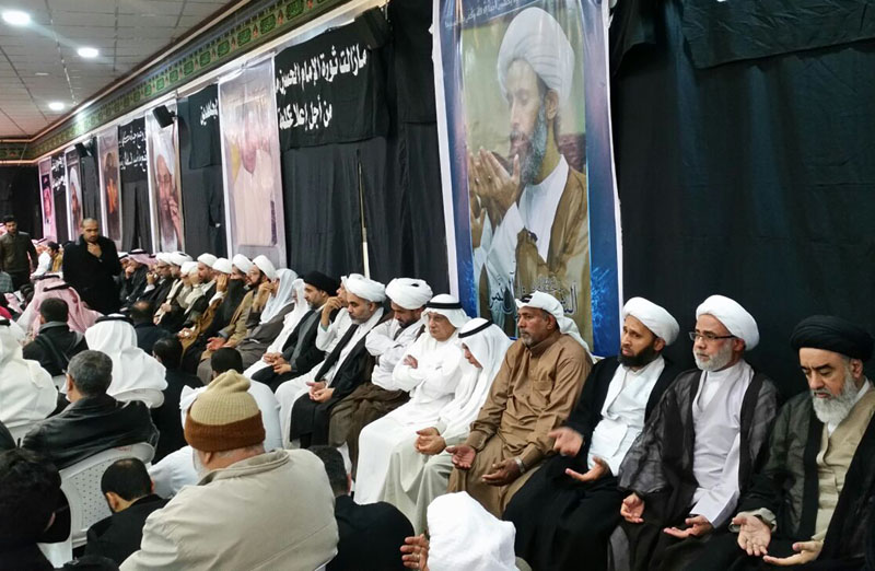 Mourners gather for Sheikh Nimr al-Nimr in al-Awamiya, Saudi Arabia on Sunday, January 3, 2016. Al-Nimr and 46 others were executed in Saudi Arabia on Saturdayu0097 the largest mass execution carried out by the kingdom in three and a half decades. Photo: AP