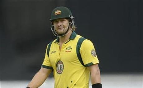 Australian all-rounder Shane Watson. Photo: Reuters