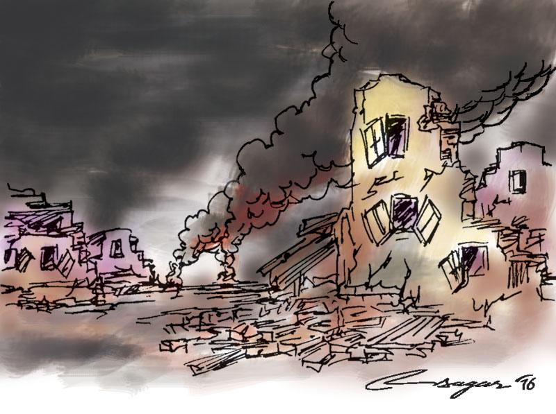 Middle East cold war. Image: Ratna Sagar/THT