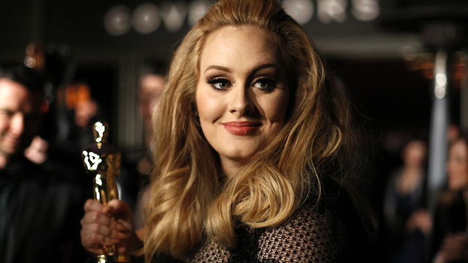 UK Singer Adele pose for photo in this undated file photo. Photo: Reuters
