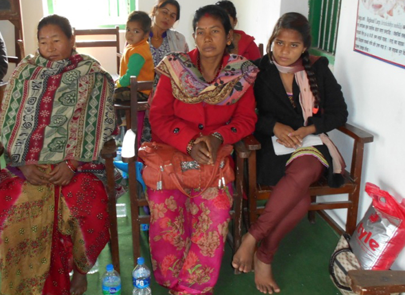 Participants of a pisciculture training programme in Geta of Kailali. Photo: PACT