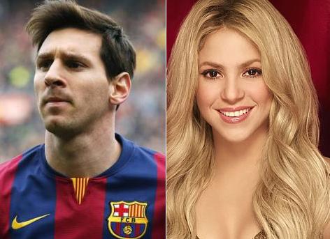 Messi and Shakira