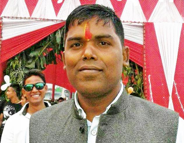 File photo of Tarai Madhes Student Front chariperson Santosh Kumar Yadav. Photo: Ram Sarraf