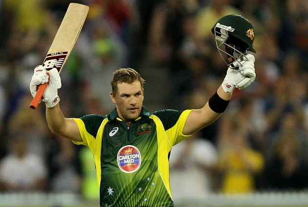 File photo of Australian one day opening batsman Aron Finch. Photo: Reuters