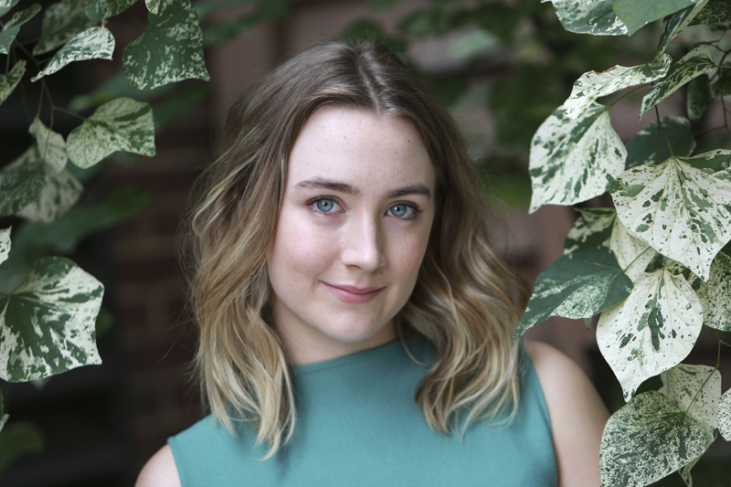 FILE - Actress Saoirse Ronan poses for a portrait in New York, on October 8, 2015.  Photo: Amy Sussman/Invision/AP