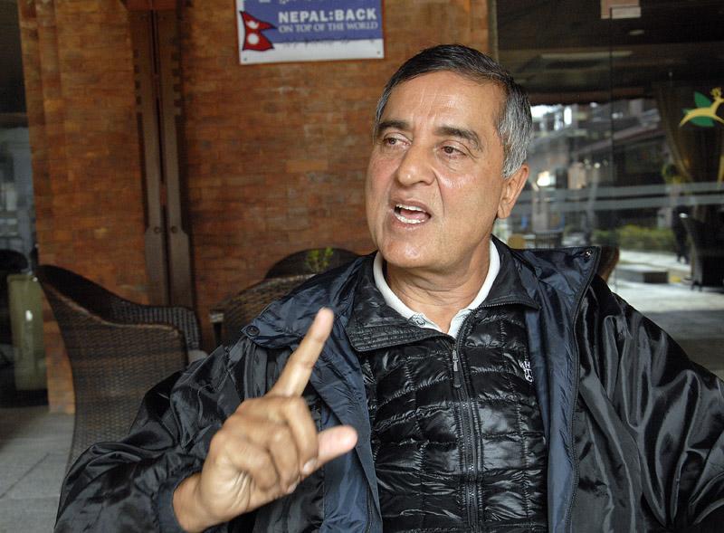 Bhairaja Panday. Photo: Bal Krishna Thapa/ THT