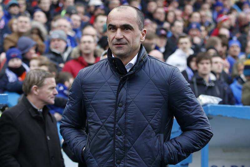 Everton manager Roberto Martinez during their match against Carlisle United in the FA Cup Fourth Round at the Brunton Park on January 31, 2016. Photo: Action Images via Reuters
