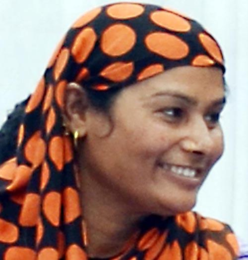 Former Minister of State Karima Begam. Photo: Ram Sarraf/File