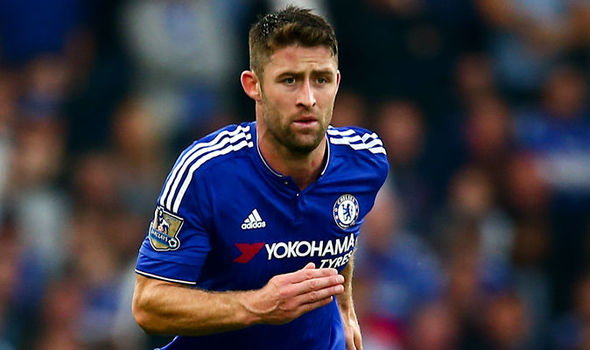 File photo of Chelsea defender Gary Cahill.