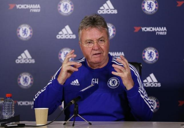 Football Soccer - Chelsea - Guus Hiddink Press Conference - Chelsea Training Ground - 12/2/16. Chelsea manager Guus Hiddink during the Press Conference. Action Images via Reuters / Matthew Childs. Livepic