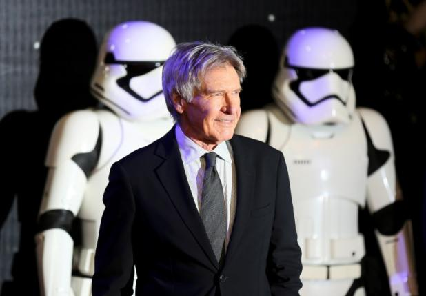 Harrison Ford arrives at the European Premiere of Star Wars, The Force Awakens in Leicester Square, London, December 16, 2015.   REUTERS/Paul Hackett