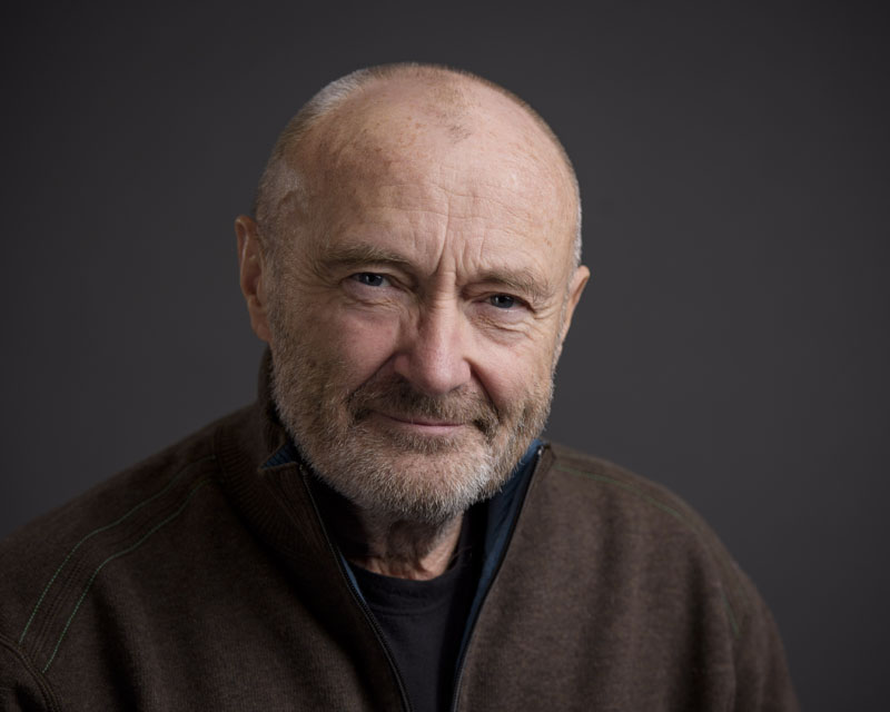 Musician Phil Collins poses for a portrait in New York, on February 2, 201. Photo: Drew Gurian/Invision/AP
