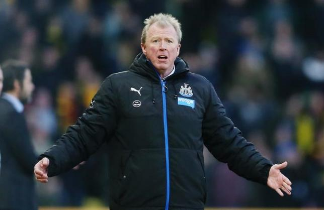 Football Soccer - Watford v Newcastle United - Barclays Premier League - Vicarage Road - 23/1/16, Newcastle United manager Steve McClaren. Action Images / Matthew Child/ Livepic