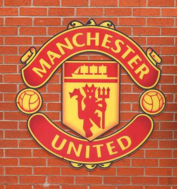 Logo of Manchester United. Photo: Reuters